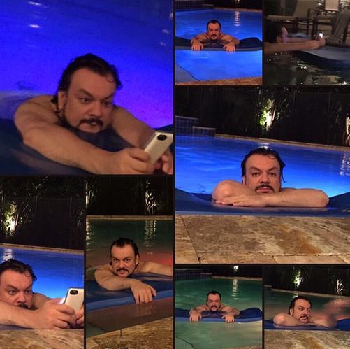 Киркоров в бассейне