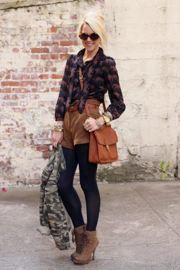 Пример образа «casual» с сумкой-планшетом
