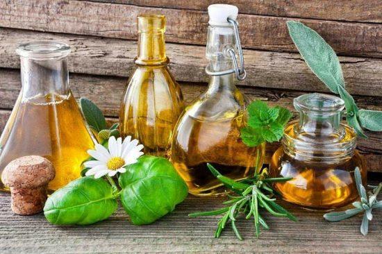 Растительное масло во флаконах