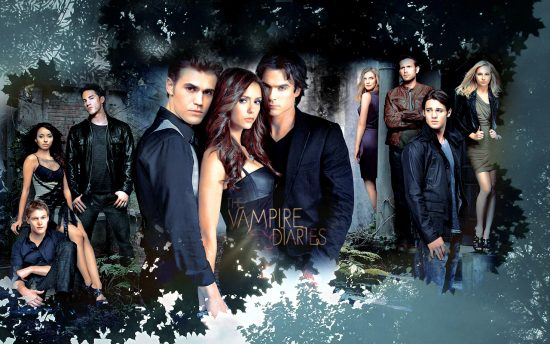Постер сериала «Дневники вампира»