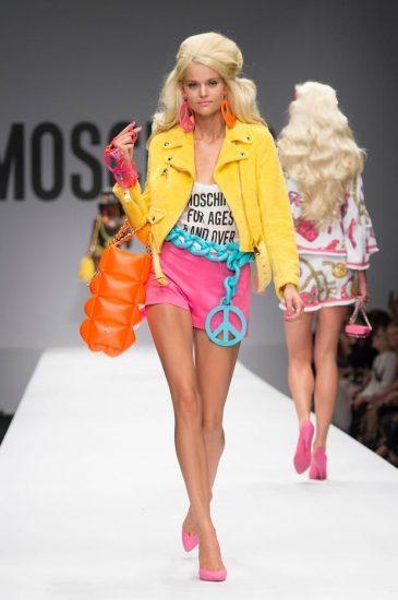 Образ с показа Moschino