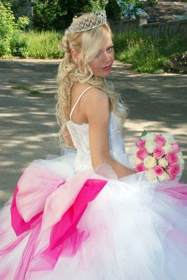 Свадебное платье в стиле Барби