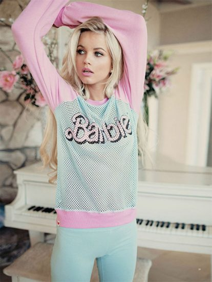 Спортивная одежда в стиле Барби