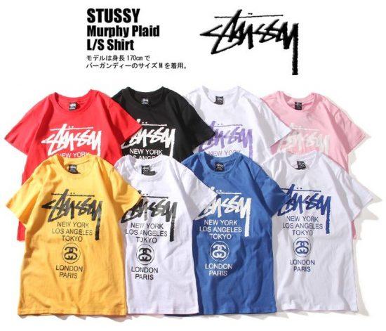 Одежда бренда Stussy