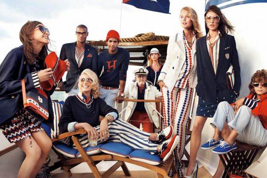 Одежда бренда Tommy Hilfiger