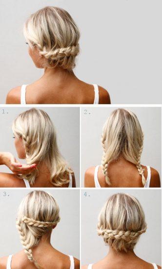Кружевная коса