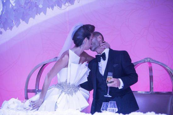 Кети Топурия в свадебном платье