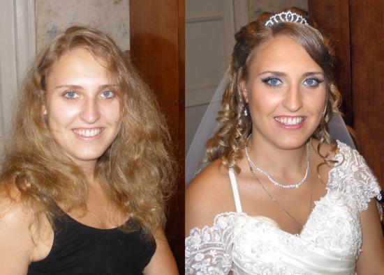 Невеста до и после свадьбы