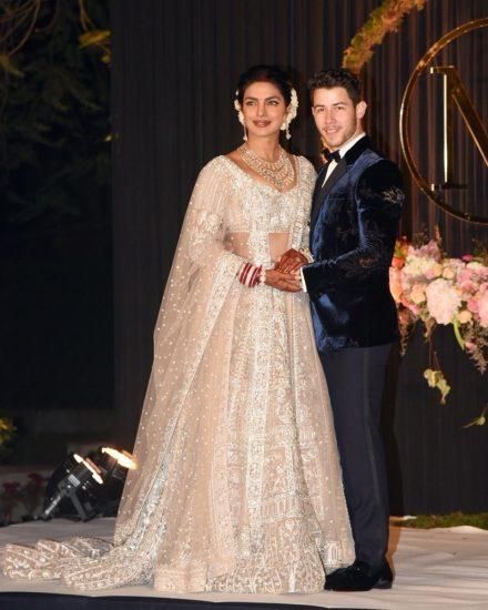 Приянка Чопра в свадебном платье