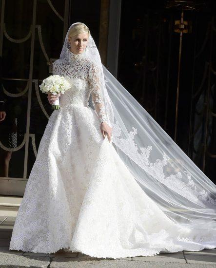 Никки Хилтон в свадебном платье