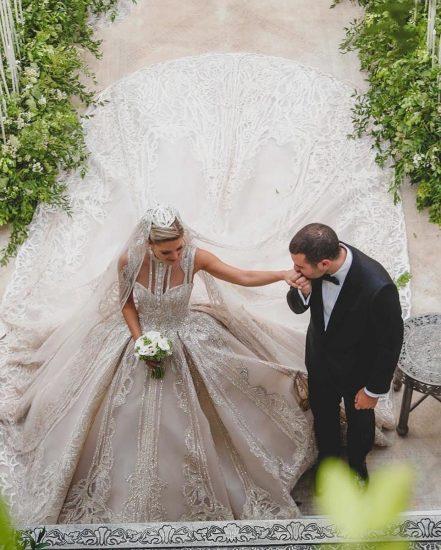 Кристина Мурад в свадебном платье