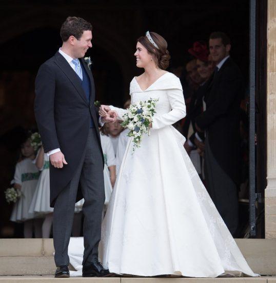 Принцесса Евгения в свадебном платье