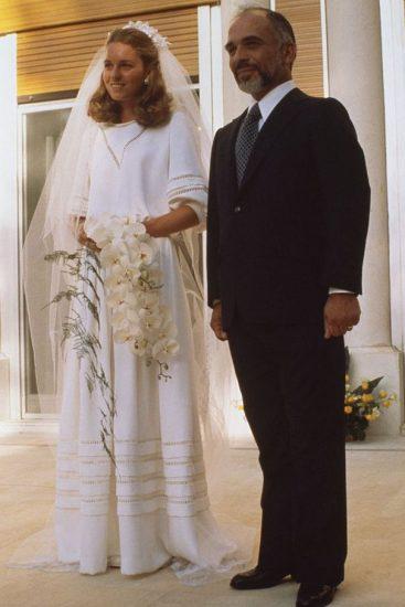 Фото со свадьбы принцессы Нур и короля Хусейна