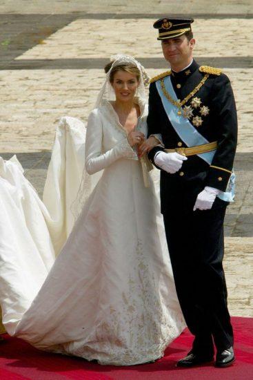 Фото со свадьбы Летиции Ортис и короля Фелипе