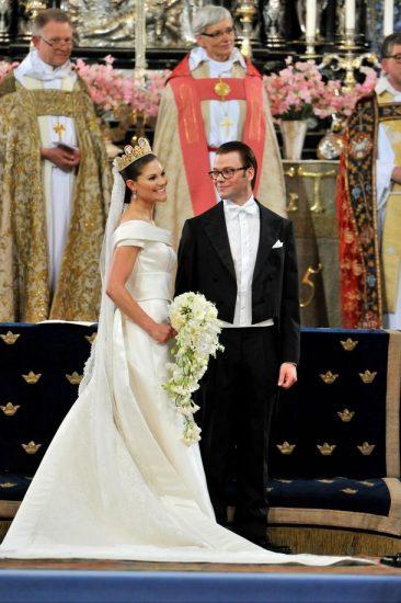 Фото со свадьбы принцессы Виктории и принца Даниэля