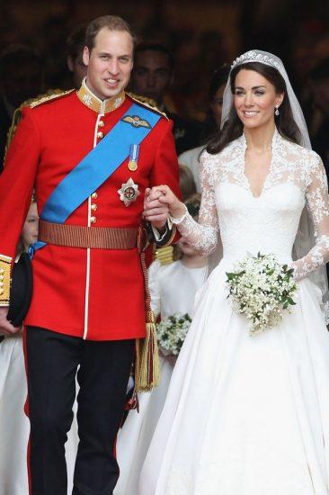 Фото со свадьбы Кейт Миддлтон и принца Уильяма