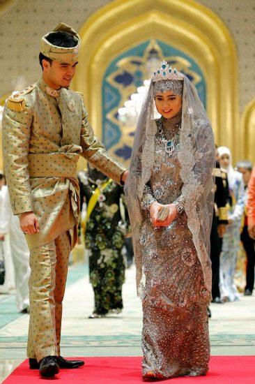 Фото со свадьбы принцессы Хафизы Болкиах и Мухаммада Рузани
