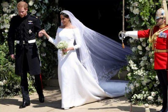 Фото со свадьбы Меган Маркл и принца Гарри