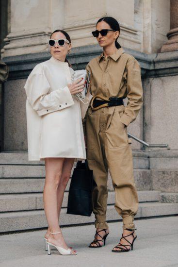 Модные наряды в стил минимализм