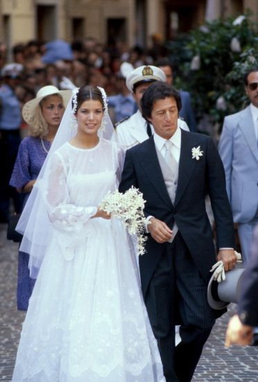 Фото со свадьбы принцессы Каролины и Филиппа Жюно