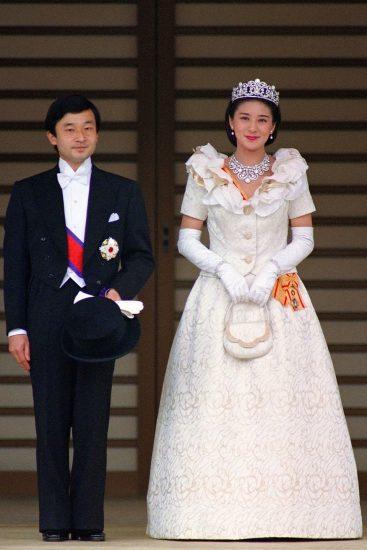 Фото со свадьбы принцессы Масако и принца Нарухито