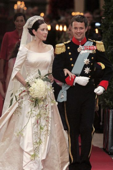 Фото со свадьбы Мэри Дональдсон и принца Фредерика