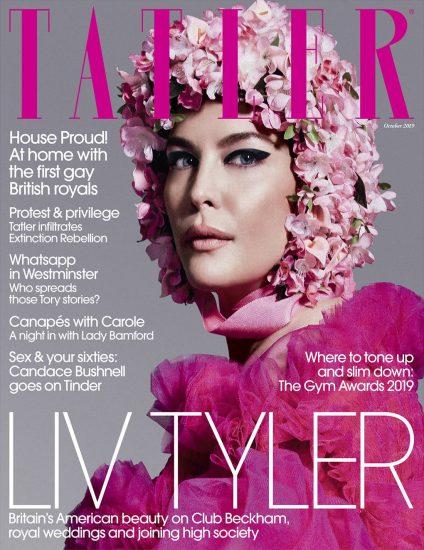 Обложка октябрьского выпуска Tatler