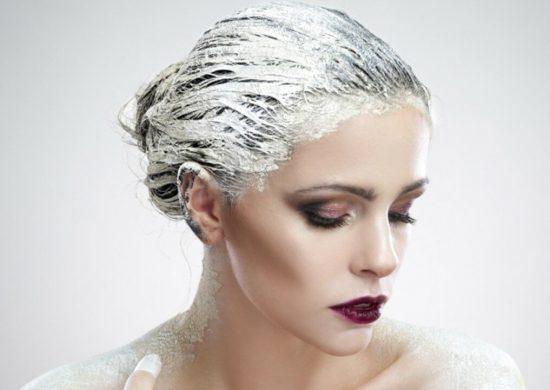 Глиняная маска для волос