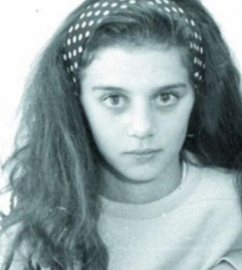 Анна Седокова в детстве