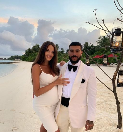 Анастасия Решетова с Тимати на Мальдивах