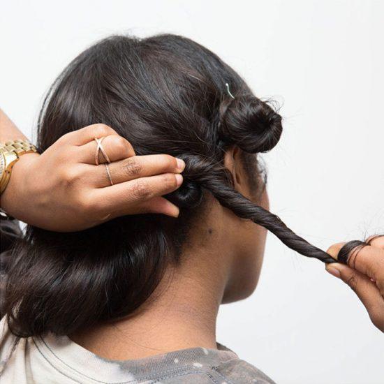 Жгуты из волос