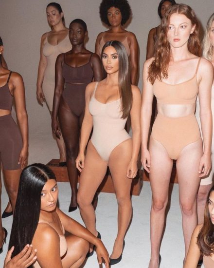 Рекламная кампания Ким Кардашьян