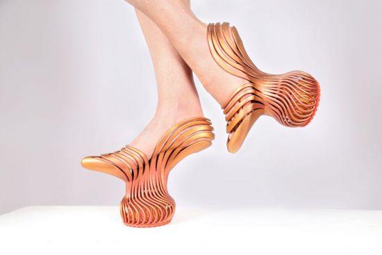 Туфли-вазы