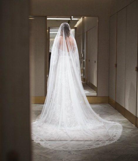 Ксения Собчак в свадебном платье