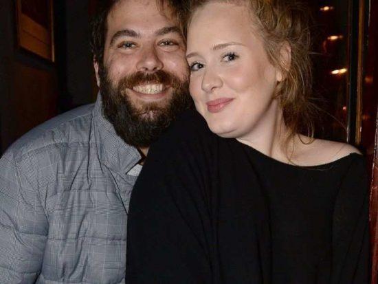 Адель с мужем Саймоном