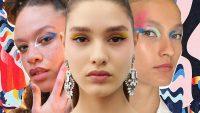 Неделя моды в Нью-Йорке макияж