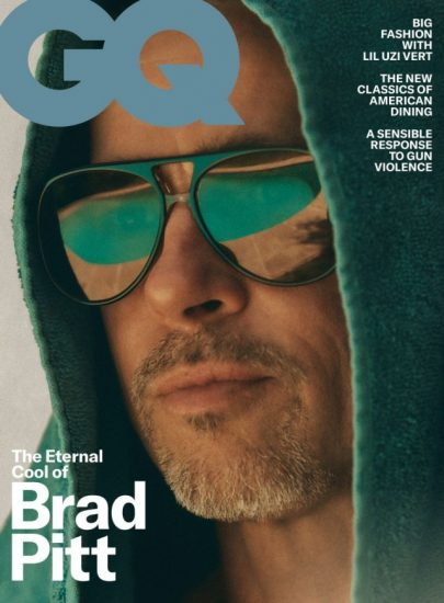 Брэд Питт на обложке журнала GQ