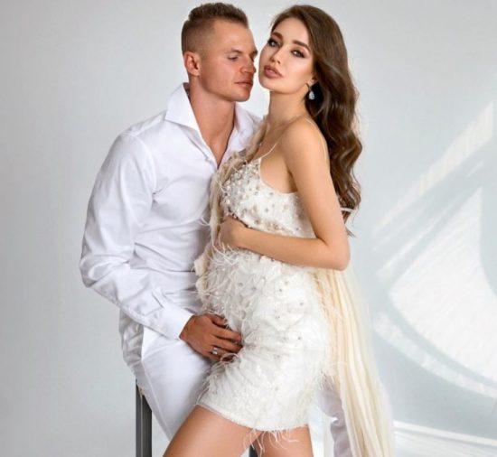 Анастасия Костенко с мужем Дмитрием