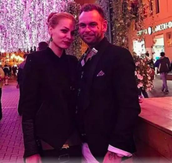Мэрилин Керро с мужем