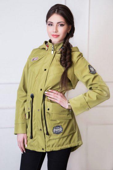 какие демисезонные куртки сейчас в моде