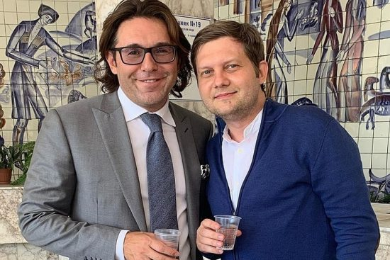 Борис Корчевников и Андрей Малаховым сейчас