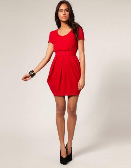 фасоны платьев для высоких женщин
