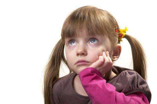 тревожная девочка