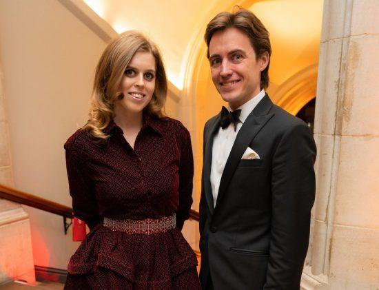 Принцесса Биатрис с Эдоардо Мапелли Моцци