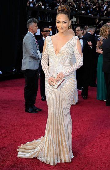 Джей Ло в изысканном платье