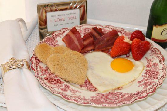 идеи романтического завтрака для любимого