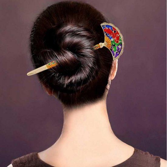 Причёска с «китайской палочкой»