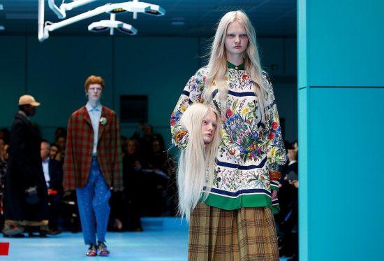 Миланский показ моды 2018