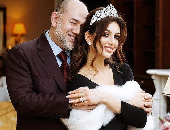 Оксана Воеводина с бывшим мужем Мухаммадом