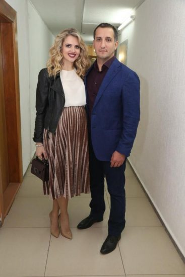 Екатерина и Арарат Кещян